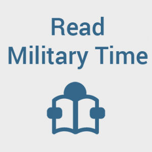 How To Read Military Time