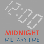 Midnight Military Time Featured