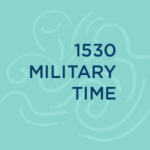1530 Military Time is 3:30PM
